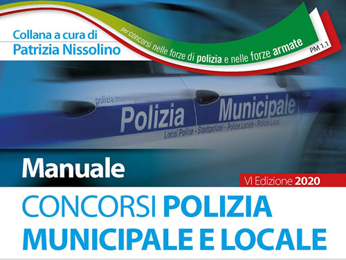 Manuale Concorso Polizia Municipale e Locale
